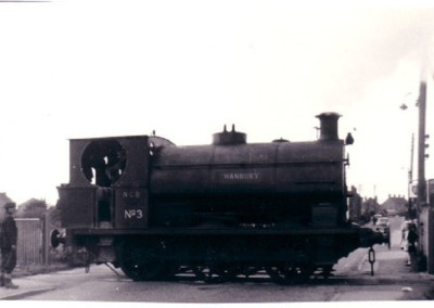 1 Colliery Loco Hanbury No3 Crossing Brownhills Rd