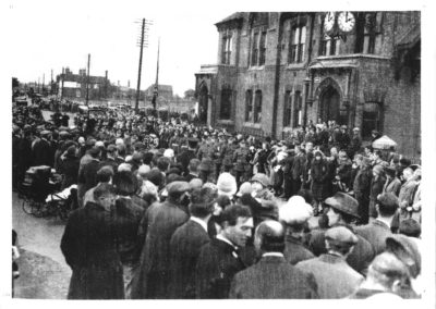 18 Funeral At Brownhills Of Some Of The Miners Killed At The Grove