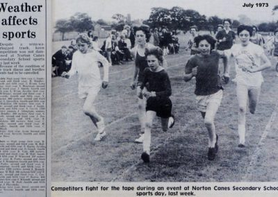 23 Norton Canes Secondary School Sports 1973