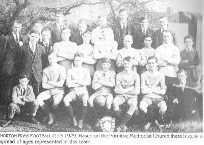 31 Primitive Methodist Church Football Team 1929