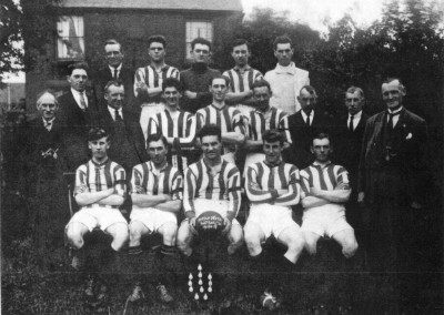 32 Football Team 1928 29 Trinity Wesleyan Tin Tabernacle