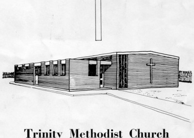 34 New Trinity Methodist Church Opened 2nd November 1968