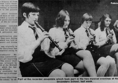 36 Norton Canes Secondary School Concert February 1973