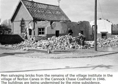 59 Village Institute Demolition 1946