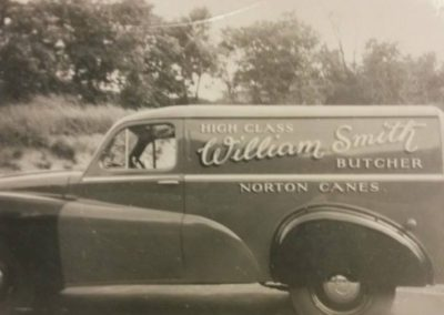 60 William Smith Butchers Van