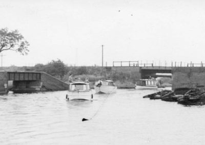 70 Other Side Of Railway Bridge Norton Springs Branch Left