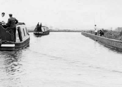 79 Canal On High Embankment After Kingswood Bridge Heading 4 Rumer Hill Junction