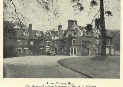 Little Wyrley Hall 2